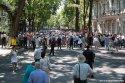 Protestele față de sistemul electoral mixt au continuat și astăzi
